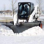 Снегоуборочный V-образный отвал