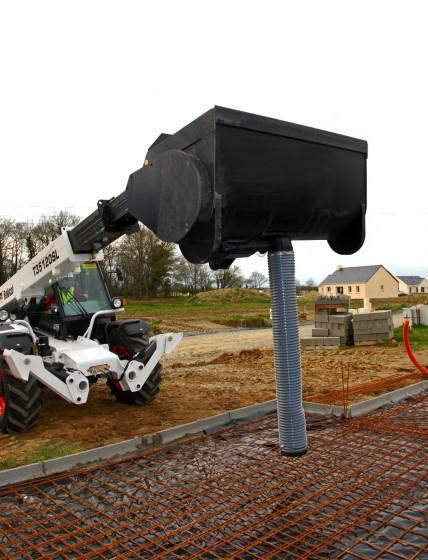 бетоносмесительный ковш